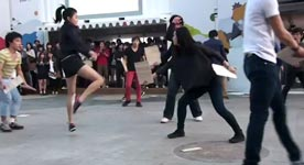 Taekwondo Shuffle in Korea