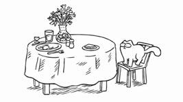 Simons Cat, Lunch Break