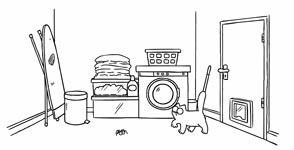 Simon's Cat Waschmaschine