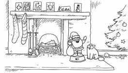 simons cat, weihnachten