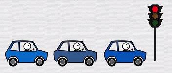 Wie entsteht ein Verkehrsstau