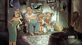 Simpsons, Chomet Couch Gag