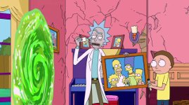 THE SIMPSONS Couch Gag Mathletes Feat