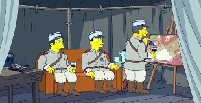 Simpson Couch Gag