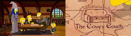 Simpsons, Herr der Ringe, Hobbit