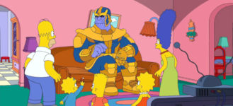 Simpsons Thanos Couchgag