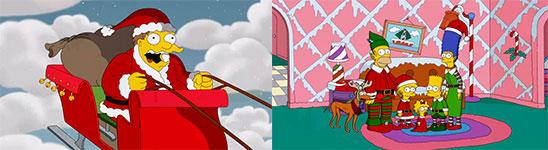 Simpsons, Weihnachten, Vorspann, Intro, Couch Gag