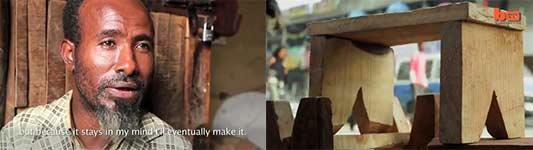 The Armless Carpenter, Tischler ohne Arme, Schreiner