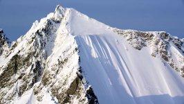 Skifahrer Sturz