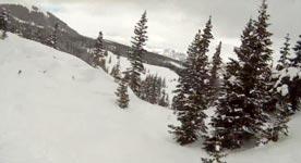 Ski, Absturz