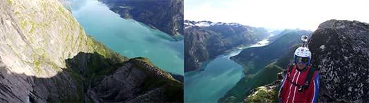 Slopeflying, Norway