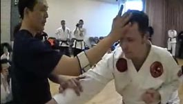 Jujitsu Hand Pressur KO Technik
