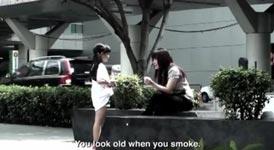 Smoking Kid, Anti-Raucher-Kampagne