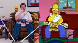Essen wie Homer Simpson