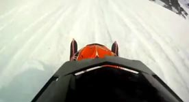Snowmobile Fail - Mountain Win