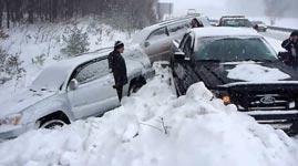 Snowstorm Crash
