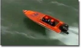 speedboat, tauchen, uboot