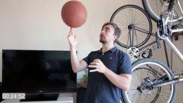 Basketball Finger drehen lernen
