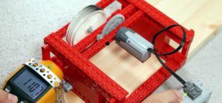 Lego Rad schnell drehen