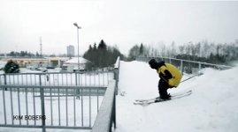 Ski Wendeltreppe