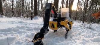 Spot Boston Dynamics Arm