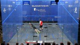 Squash Ballwechsel