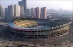 abriss, stadion, arena, olympiastadion, china
