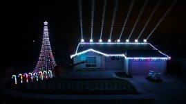 Star Wars Weihnachtsbeleuchtung