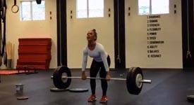 Frau, stark, Fitness