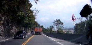 Steinschlagwarnung Taiwan
