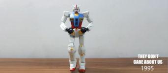 Michael Jackson stop motion roboter