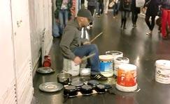 street drummer, madrid