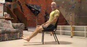 fitness, muskeln, stuhl