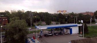 Hurrikan in Omsk