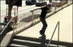 Skater, Sturz, Video