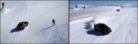 subaru, schnee, schneepiste, auto, skifahren