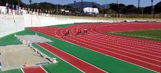 Sumo 100 Meter Sprint