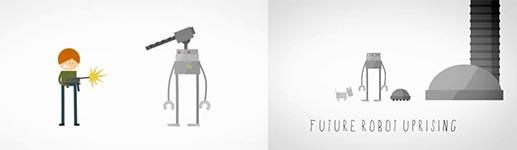 Robopocalypse, Roboter