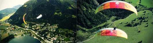 Synchron Paragliding, Gleitschirm