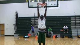 Großer Basketballer