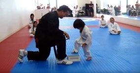 Taekwondo Kind Gürtel
