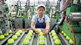 Tennisball Herstellung