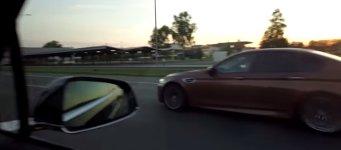Tesla Model X P90D vs BMW M5 F10