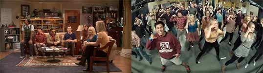 The Big Bang Theory Flashmob