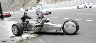 Tim Cotterill, The Frogman, Rocket 2 Trike