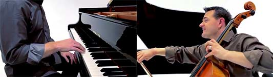 The Piano Guys, David Guetta, Adele