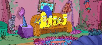 The Shrimpsons -  Couch Gag