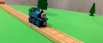Stunts Thomas Lokomotive