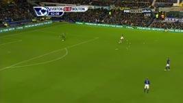 Tim Howard Freek Wonder Goal vs Bolton