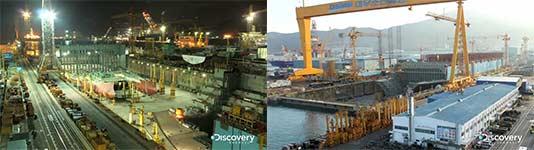 Schiffbau, Zeitraffer, Timelapse